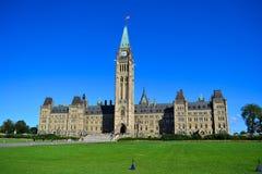 парламент Канады Стоковое Изображение