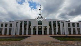 Парламент Канберры расквартировывает столицу Австралии сток-видео
