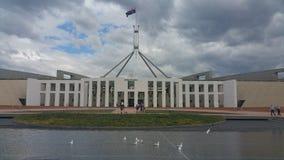 парламент дома canberra стоковая фотография rf