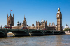парламент домов ben большой Стоковая Фотография RF