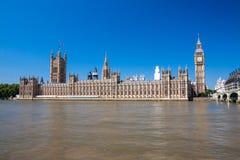 парламент домов ben большой Стоковое Изображение RF