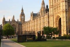 Парламент придает квадратную форму стоковые изображения rf