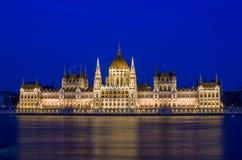 Парламент Hungaryan Стоковые Фотографии RF