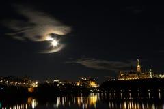 парламент ottawa холма Стоковая Фотография