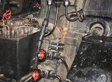 пар двигателя детали Стоковое Изображение RF