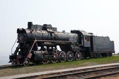 пар двигателя старый Стоковое Изображение RF
