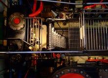 пар двигателя шлюпки старый стоковые фотографии rf