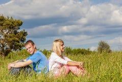 пар детеныши outdoors Стоковая Фотография RF