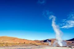Пар на гейзерах El Tatio Стоковые Изображения RF