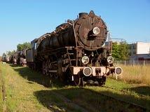 пар паровоза двигателя Стоковое Изображение RF