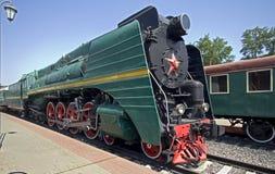 пар 5 паровозов Стоковая Фотография RF