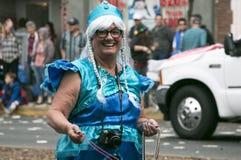 Пасадина, Калифорния - 20-ое ноября 2016: Парад Doo Dah Стоковые Фотографии RF