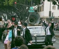 Пасадина, Калифорния - 20-ое ноября 2016: Парад Doo Dah Стоковые Фото