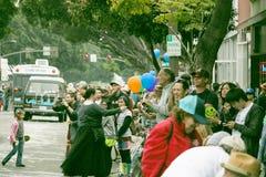 Пасадина, Калифорния - 20-ое ноября 2016: Парад Doo Dah Стоковое фото RF