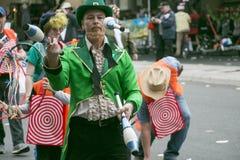 Пасадина, Калифорния - 20-ое ноября 2016: Парад Doo Dah Стоковое Фото