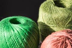 Пасма пряжи других цветов Стоковая Фотография