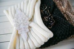 2 пасма шерстей и связанного градиента держателя Стоковое Изображение RF