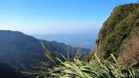 Пасмурная крышка долина в Шри-Ланке Стоковое Изображение RF
