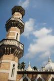 Пасмурная мечеть стоковые фотографии rf