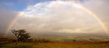 пасмурная радуга Стоковые Изображения RF