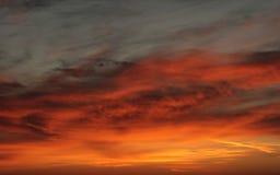 пасмурное небо изображения Стоковое Изображение RF
