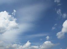 пасмурное небо рамки Стоковое Изображение