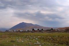 пасмурное село hemu стоковое изображение
