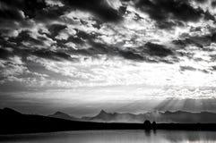 Пасмурное утро, Pemberton, Британская Колумбия Стоковая Фотография RF