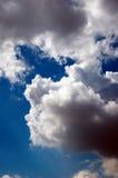 пасмурное skyscape Стоковые Изображения