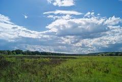 пасмурный ландшафт Стоковое Изображение