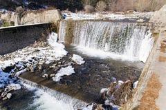 пасмурный водопад неба горы Стоковые Фотографии RF