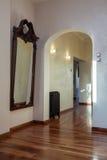 Пасмурный дом - классицистический интерьер Стоковые Изображения