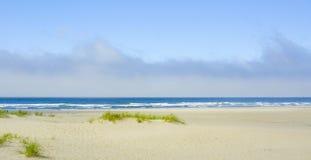 пасмурный океан над небом Стоковые Изображения RF
