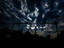 Пасмурный понедельник утром стоковые фотографии rf