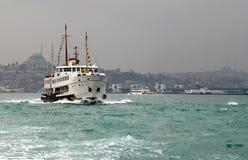 пассажирский корабль Стоковое Изображение
