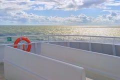Пассажирский паром в Балтийском море Стоковое Изображение