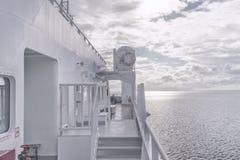 Пассажирский паром в море Стоковая Фотография RF
