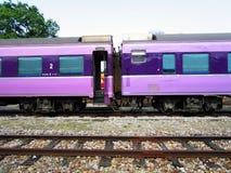 Пассажирский поезд стоковое фото