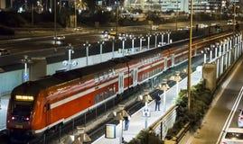 Пассажирский поезд Стоковое Изображение RF