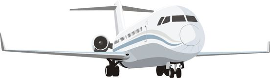 пассажирский самолет бесплатная иллюстрация