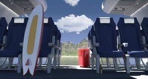 Пассажирский самолет Стоковые Фото