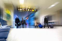 Пассажиры авиакомпании Стоковые Фотографии RF