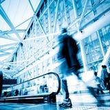 пассажиры движения Стоковые Фотографии RF