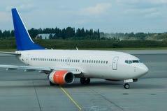 пассажир авиапорта самолета стоковая фотография