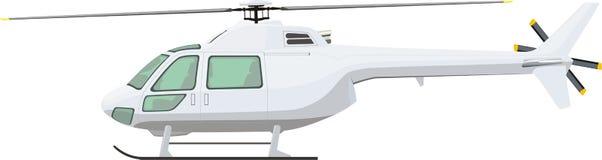 пассажир вертолета иллюстрация вектора