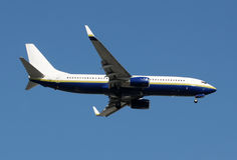 пассажир двигателя самолета Стоковое Изображение