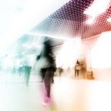 Пассажир нерезкости Стоковая Фотография
