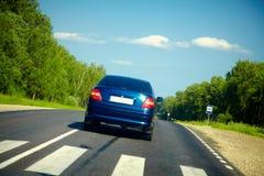 пассажир хайвея автомобилей Стоковое Изображение