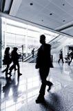 пассажир shanghai авиапорта Стоковые Изображения