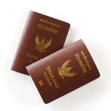 2 пасспорта Таиланда Стоковая Фотография RF